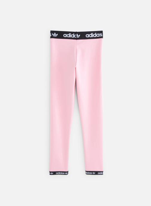 Vêtements adidas originals Poly Leggings J Rose vue bas / vue portée sac