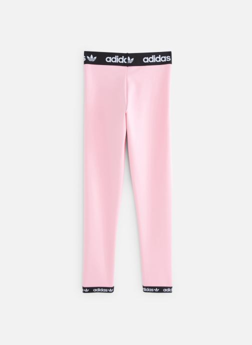 Ropa Adidas Originals Poly Leggings J Rosa vista de abajo