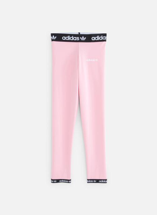 Ropa Adidas Originals Poly Leggings J Rosa vista de detalle / par