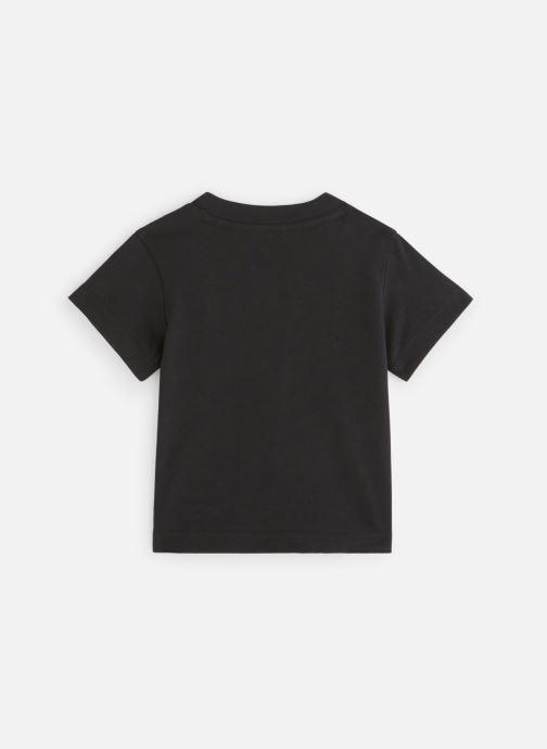 Vêtements adidas originals Trefoil Tee I Noir vue bas / vue portée sac