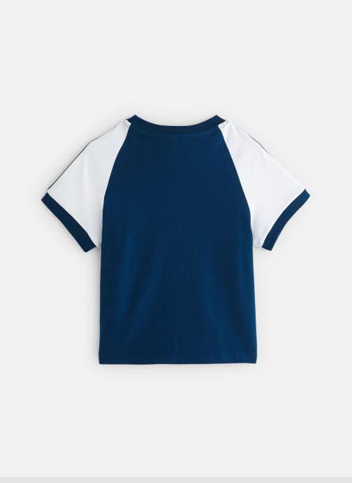Ropa Adidas Originals 3Stripes Tee K Azul vista de abajo