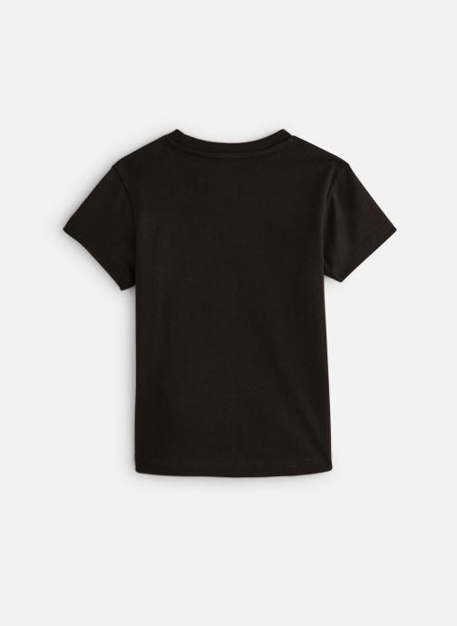 Vêtements adidas originals Trefoil Tee K Noir vue bas / vue portée sac