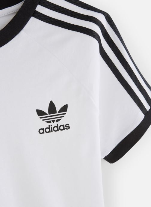 Ropa adidas originals 3Stripes Tee J Blanco vista del modelo