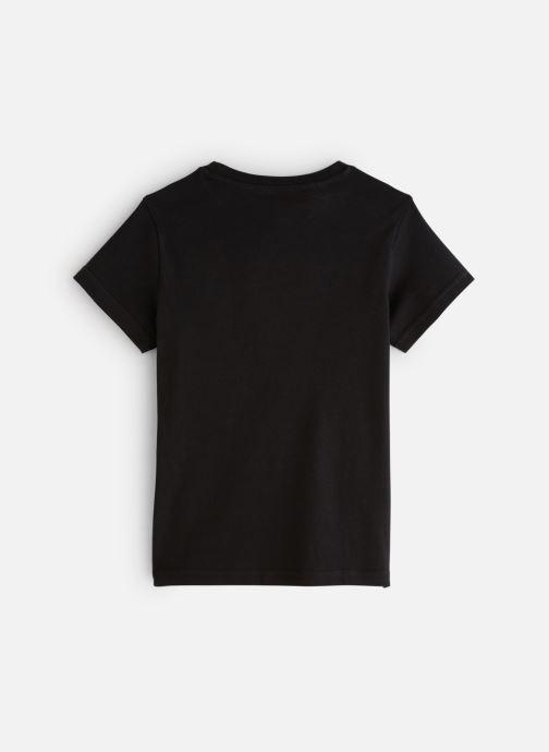Vêtements adidas originals Trefoil Tee J Noir vue bas / vue portée sac