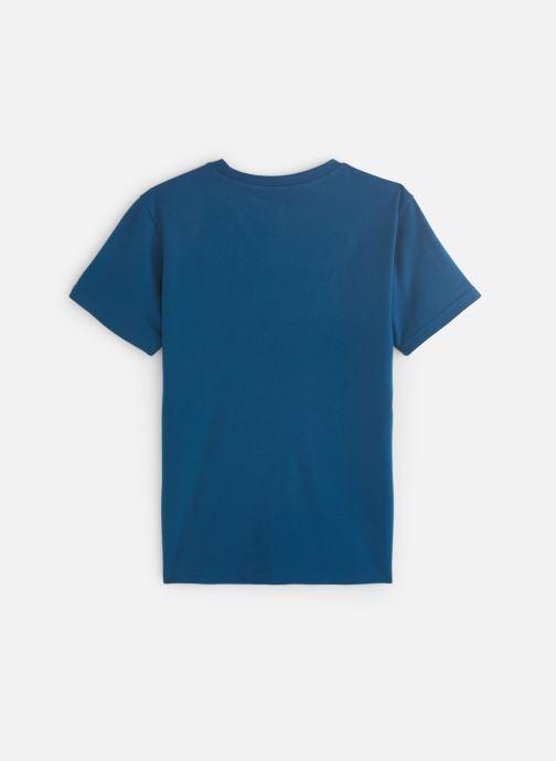 Ropa adidas originals Trefoil Tee J Azul vista de abajo