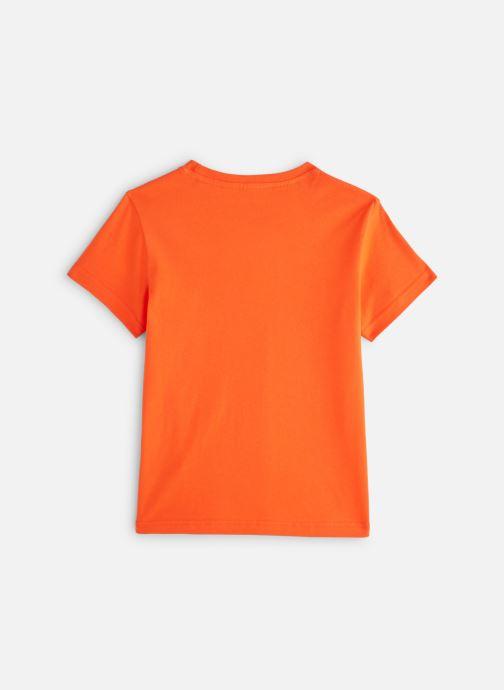 Kleding adidas originals Trefoil Tee J Oranje onder