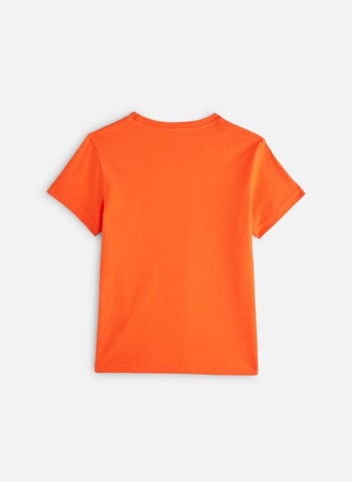 Ropa Adidas Originals Trefoil Tee J Naranja vista de abajo