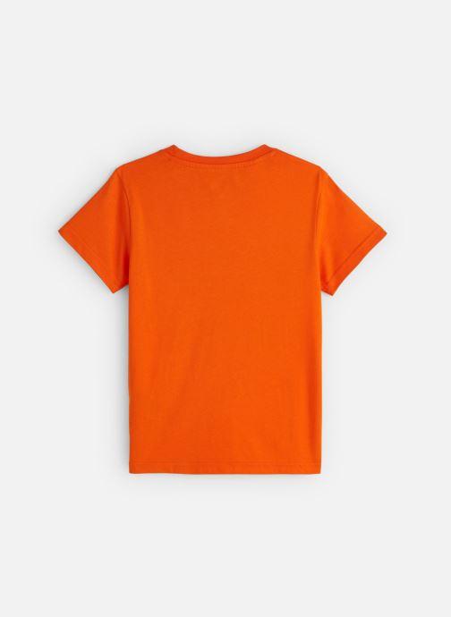 Vêtements adidas originals Trefoil Tee J Orange vue bas / vue portée sac