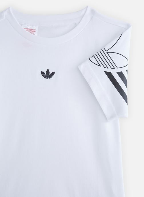 Kleding adidas originals Outline Tee J Wit model