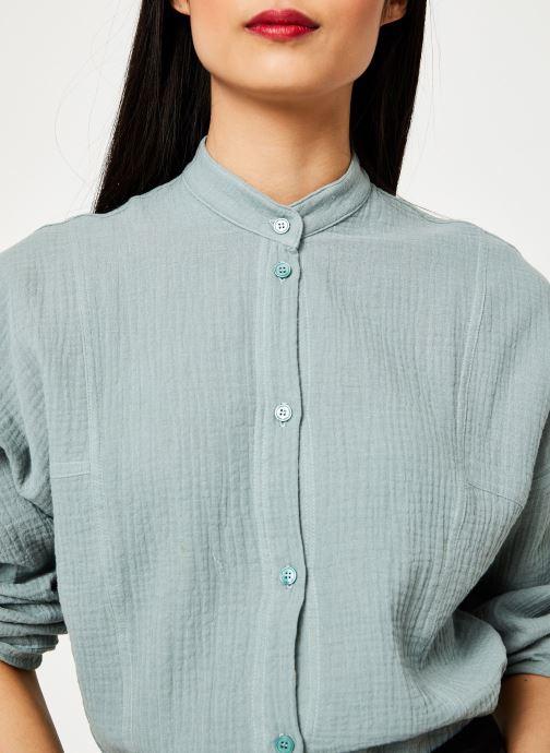 Vêtements Leï 1984 chemise Lucille Vert vue face