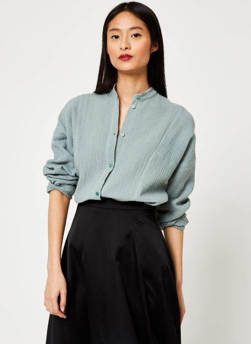 Vêtements Leï 1984 chemise Lucille Vert vue droite