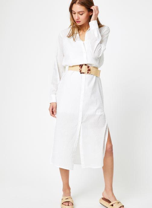 Vêtements Leï 1984 Robe Nadège Blanc vue bas / vue portée sac