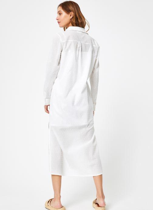 Vêtements Leï 1984 Robe Nadège Blanc vue portées chaussures
