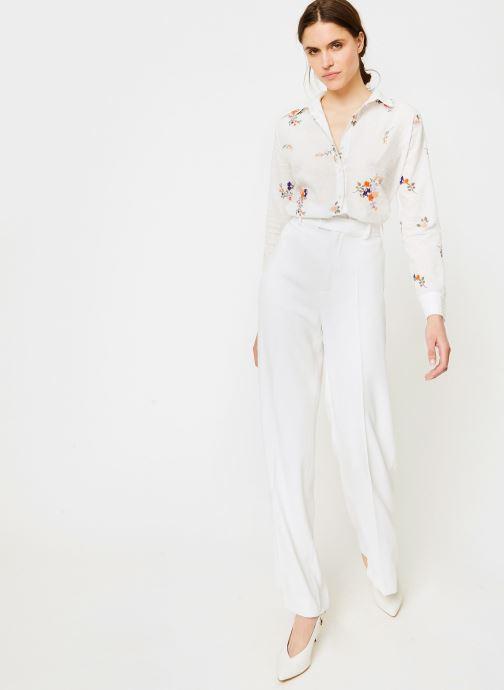 Vêtements Leï 1984 Chemise Nine Blanc vue bas / vue portée sac