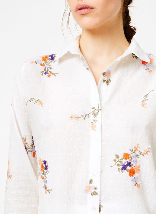 Vêtements Leï 1984 Chemise Nine Blanc vue face