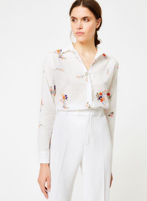 Vêtements Leï 1984 Chemise Nine Blanc vue droite