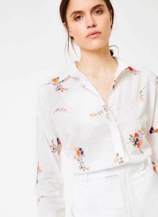 Vêtements Leï 1984 Chemise Nine Blanc vue détail/paire