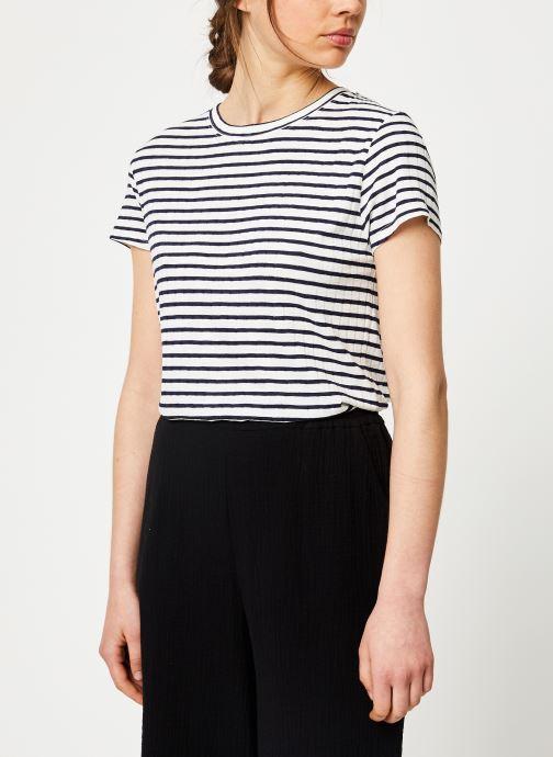 Tøj Leï 1984 T-shirt Prune Cotes Blå Se fra højre