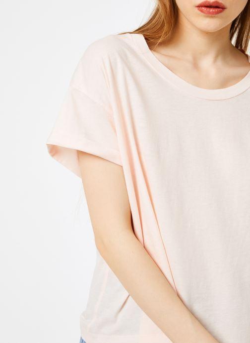 Vêtements Leï 1984 T-shirt Gabrielle Rose vue face