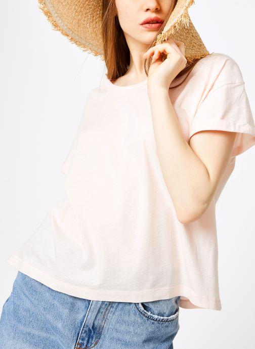 Vêtements Leï 1984 T-shirt Gabrielle Rose vue détail/paire