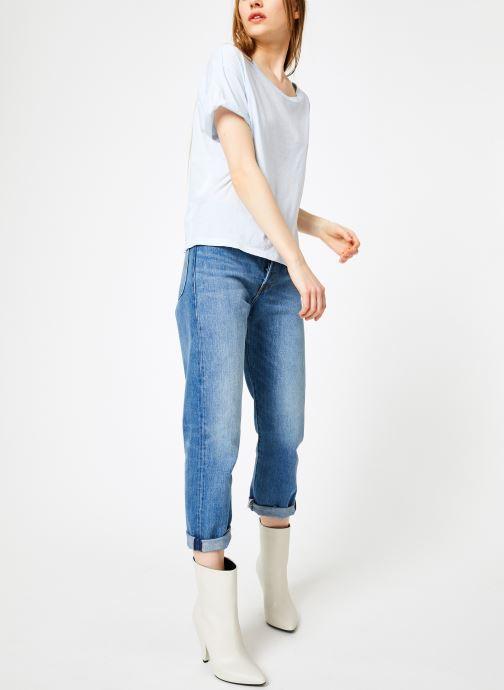 Vêtements Leï 1984 T-shirt Gabrielle Bleu vue bas / vue portée sac