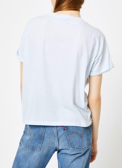 Vêtements Leï 1984 T-shirt Gabrielle Bleu vue portées chaussures
