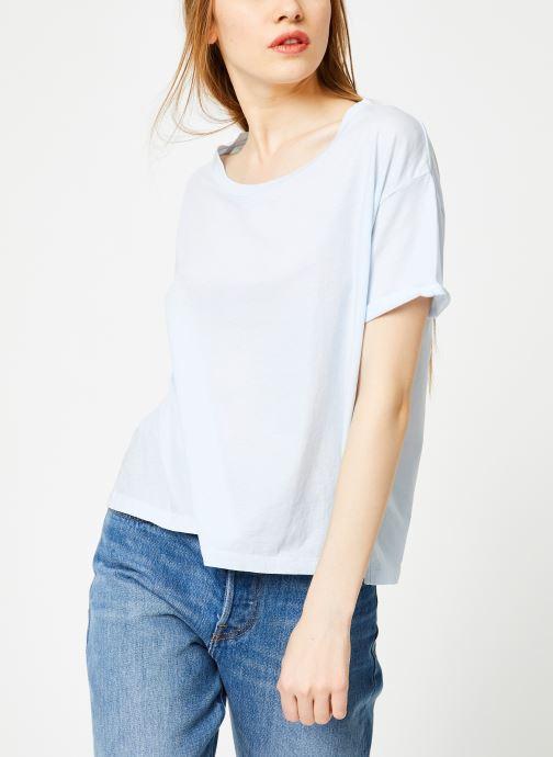 Vêtements Leï 1984 T-shirt Gabrielle Bleu vue droite