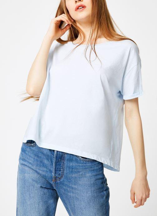 Vêtements Leï 1984 T-shirt Gabrielle Bleu vue détail/paire
