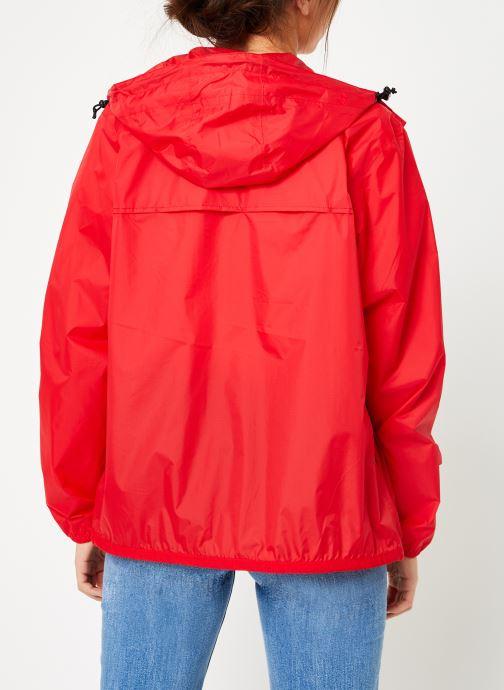 Vêtements K-Way  LE VRAI 3.0 CLAUDE Rouge vue portées chaussures