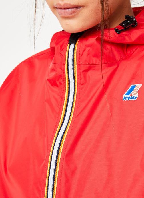 Vêtements K-Way  LE VRAI 3.0 CLAUDE Rouge vue face