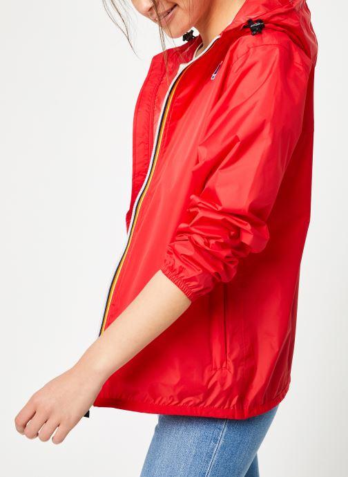 Vêtements K-Way  LE VRAI 3.0 CLAUDE Rouge vue détail/paire
