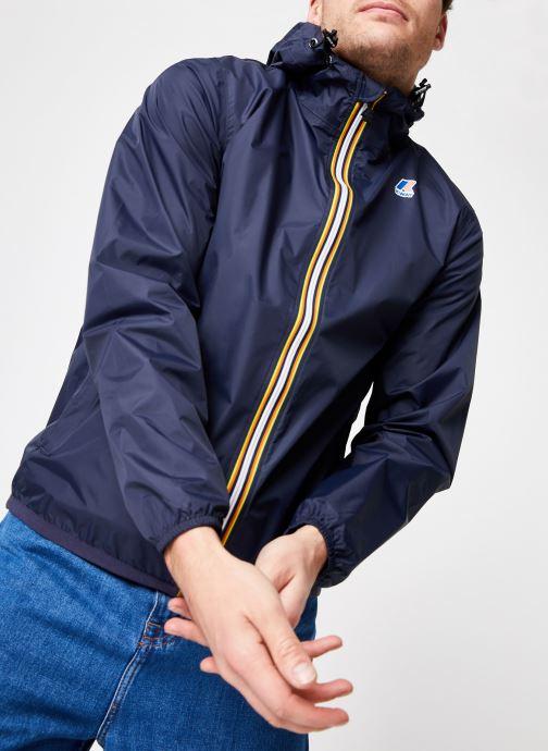 Vêtements K-Way  LE VRAI 3.0 CLAUDE Bleu vue détail/paire