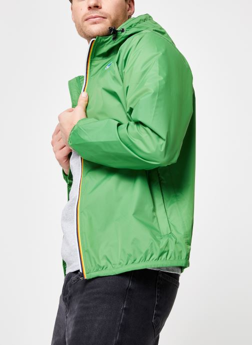 Vêtements K-Way  LE VRAI 3.0 CLAUDE Vert vue droite