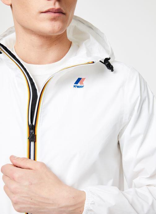 Vêtements K-Way  LE VRAI 3.0 CLAUDE Blanc vue face