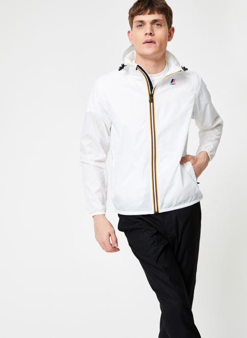 Vêtements K-Way  LE VRAI 3.0 CLAUDE Blanc vue droite