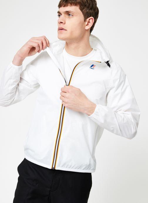 Vêtements K-Way  LE VRAI 3.0 CLAUDE Blanc vue détail/paire