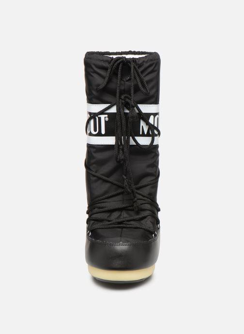Chaussures de sport Moon Boot Moon Boot Nylon F Noir vue portées chaussures