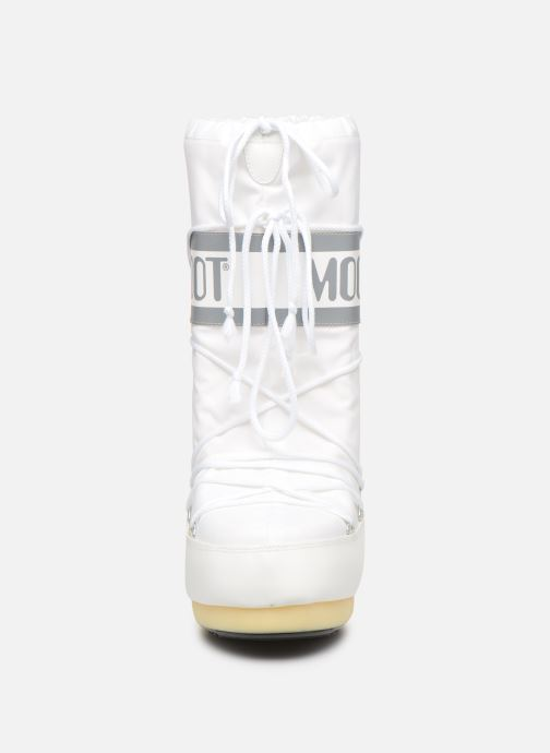 Chaussures de sport Moon Boot Moon Boot Nylon F Blanc vue portées chaussures