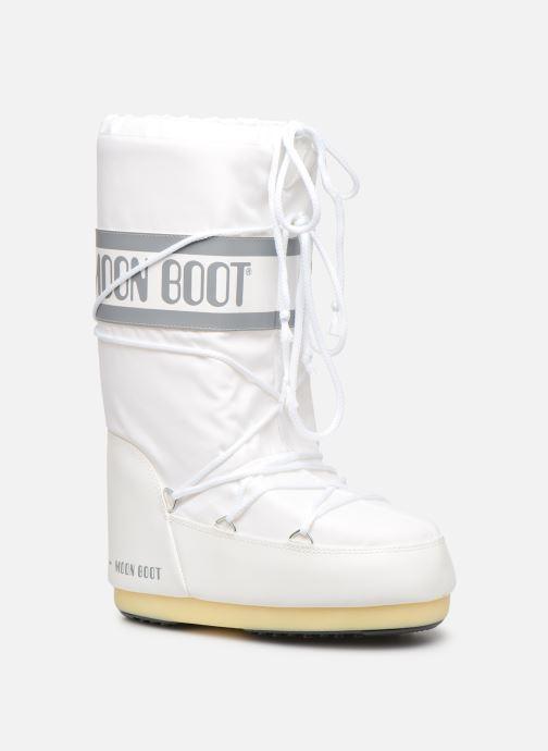 Chaussures de sport Moon Boot Moon Boot Nylon F Blanc vue détail/paire