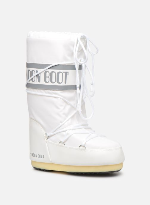 Sport shoes Moon Boot Moon Boot Nylon F White detailed view/ Pair view