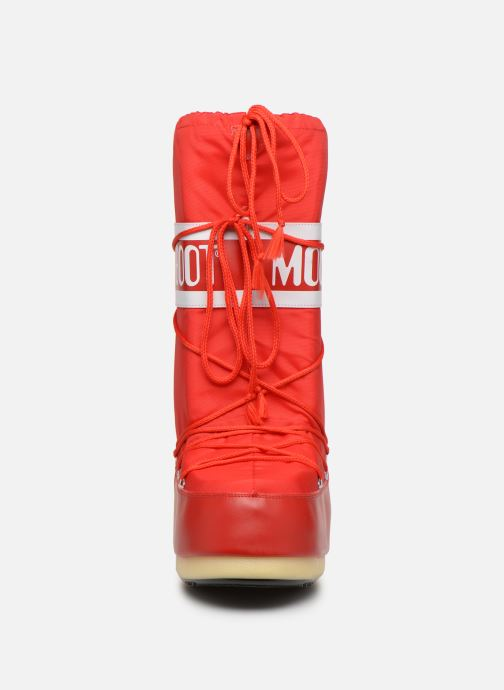 Chaussures de sport Moon Boot Moon Boot Nylon F Rouge vue portées chaussures