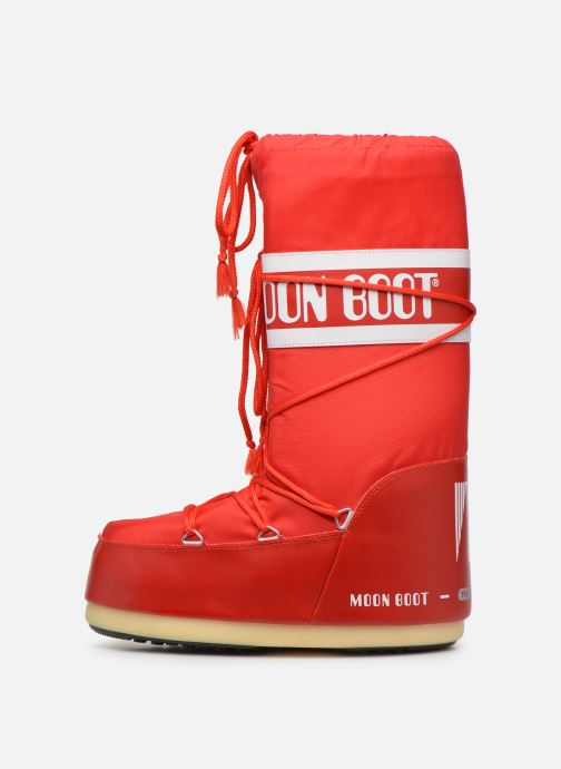 Sport shoes Moon Boot Moon Boot Nylon F Red front view