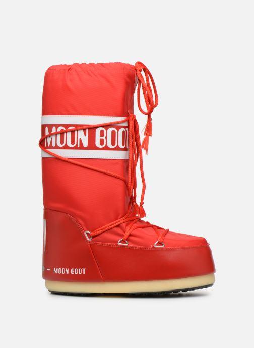 Sportssko Moon Boot Moon Boot Nylon F Rød se bagfra