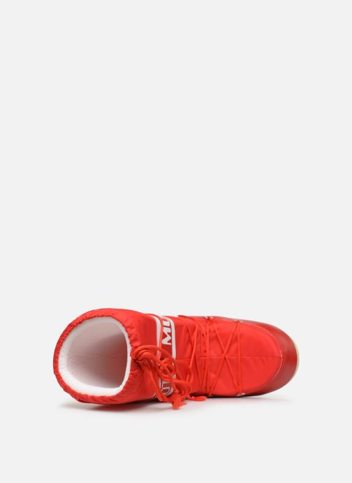 Sport shoes Moon Boot Moon Boot Nylon F Red view from the left