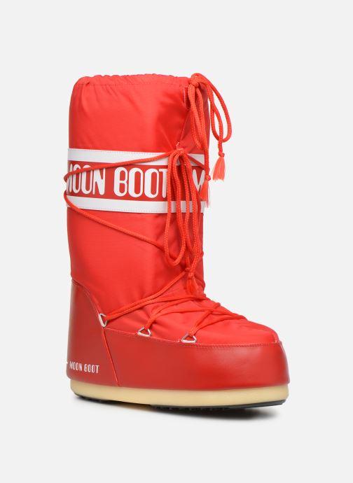 Chaussures de sport Moon Boot Moon Boot Nylon F Rouge vue détail/paire