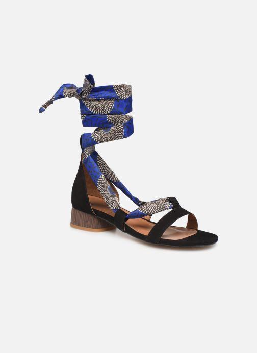 Sandales et nu-pieds Made by SARENZA UrbAfrican Sandales à Talons #1 Multicolore vue droite
