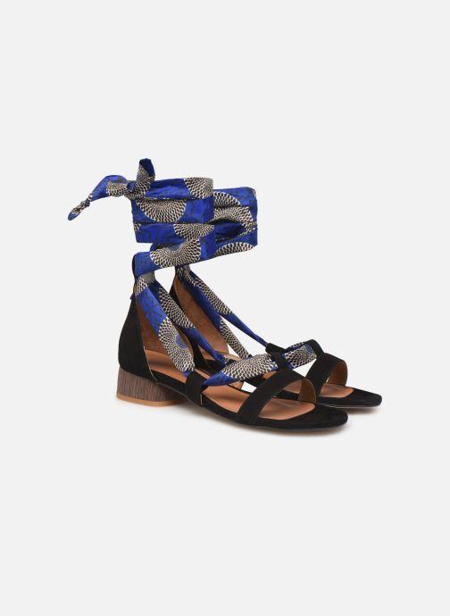 Sandales et nu-pieds Made by SARENZA UrbAfrican Sandales à Talons #1 Multicolore vue derrière