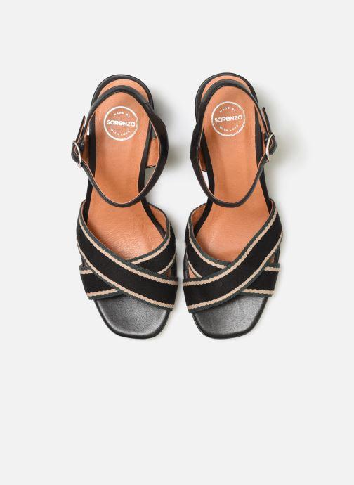 Sandali e scarpe aperte Made by SARENZA Sport Party Sandales à Talons #4 Nero modello indossato
