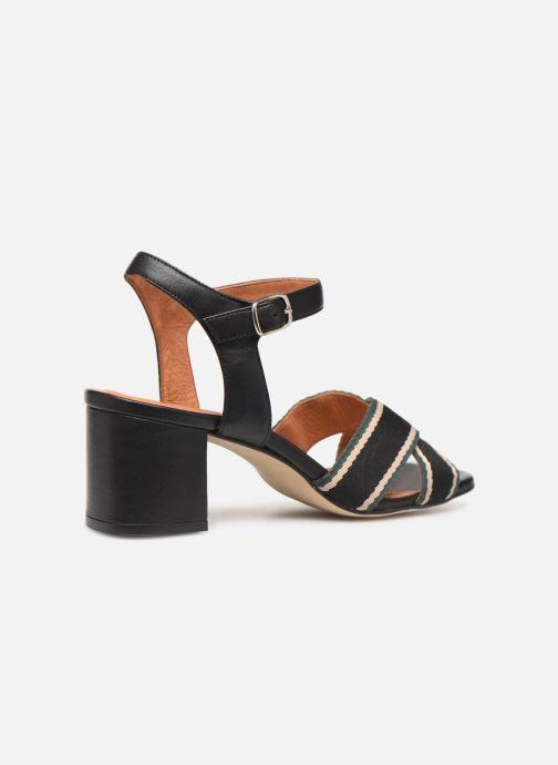 Sandales et nu-pieds Made by SARENZA Sport Party Sandales à Talons #4 Noir vue face