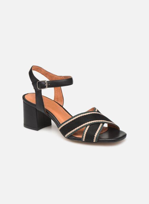 Sandales et nu-pieds Made by SARENZA Sport Party Sandales à Talons #4 Noir vue droite